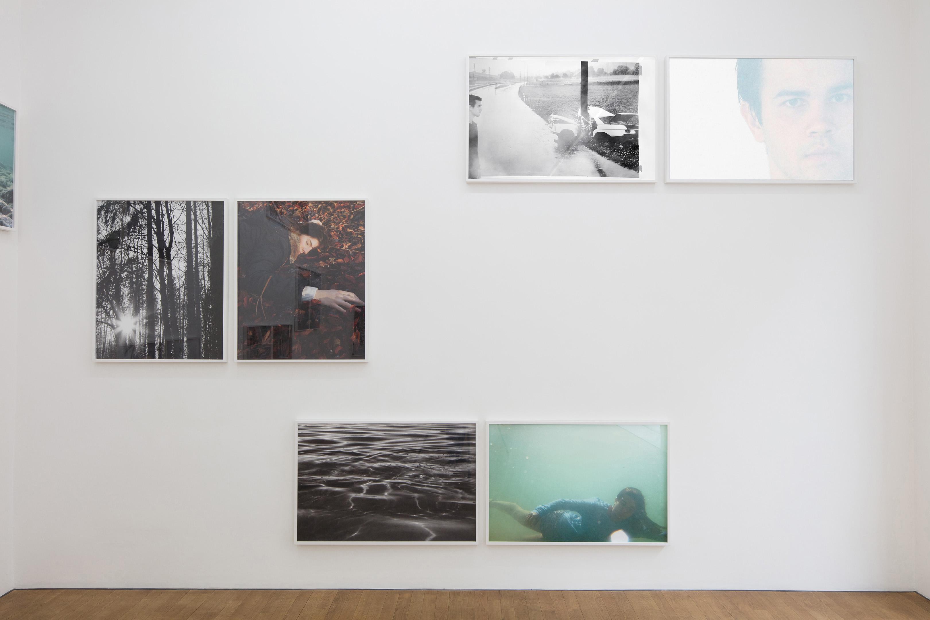Instalationshot: Barbara Probst, 12 Moments, at Kuckei und Kuckei, Berlin, April 2017
